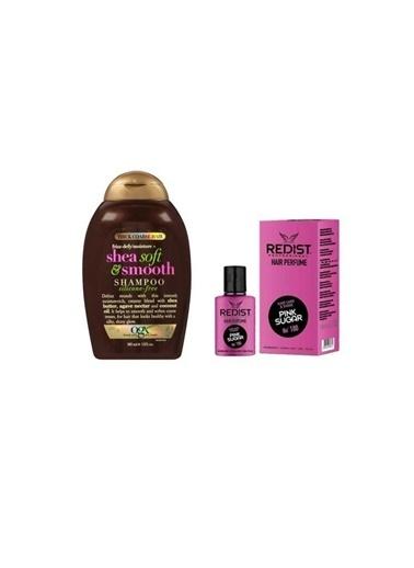 Organix Organix Shea Soft Smooth Şampuan 385 Ml+Redist Pink Sugar No:180 Saç Parfümü 50 Ml Renksiz